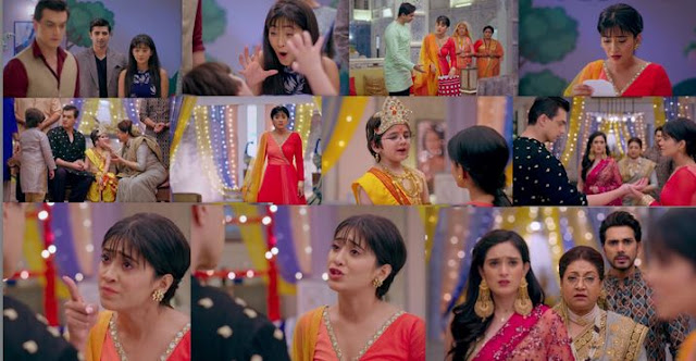 "Yeh Rishta Kya Kehlata Hai Episode 27th August 2019 Written Update "" Naira Gives Warning To Kartik and Dadi ""."