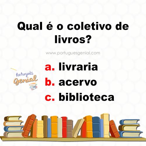 Coletivo de livros - Qual é o coletivo de livros?