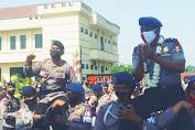 Danmen 1 Paspelopor Pimpin Upacara Purna Tugas Kompol Bambang Hiryanto