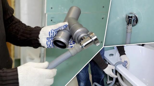 Обратный клапан для стиральной машины на слив — назначение, виды, монтаж
