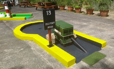 Rylstone Crazy Golf and Tea Gardens in Shanklin on the Isle of Wight by Philip Walsh, July 2020