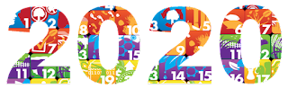 happy new year 2020 text png 2