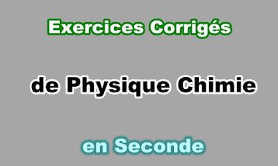Exercices Corrigés Physique Chimie Seconde en PDF
