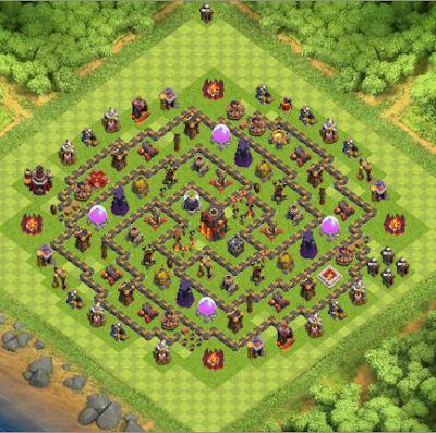 coc 10 base