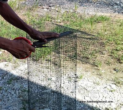 Perangkap ikan dari kawat loket