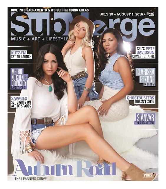 """Auburn Road"" On The Cover Of Submerge Magazine"