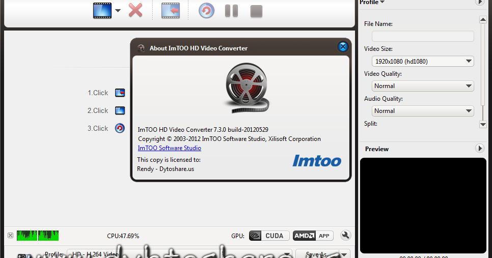 IMTOO HD VIDEO CONVERTER 5 1 26 1012 СКАЧАТЬ БЕСПЛАТНО
