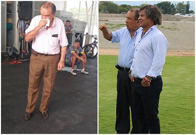 Camargo, al borde de las lágrimas, tras decisión de Gamero de dejar al DEPORTES TOLIMA: Ya no es una cuestión de plata