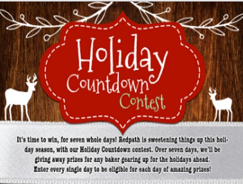 Redpath Holiday Countdown Contest