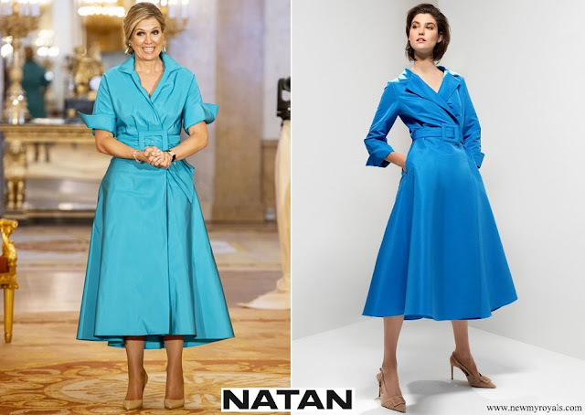 Queen Maxima wore NATAN Taffeta dress
