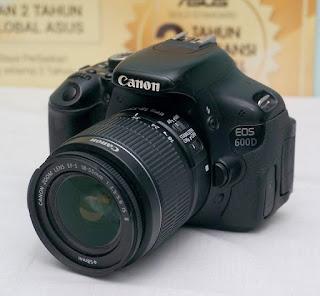 Jual Canon EOS 600d Bekas Malang