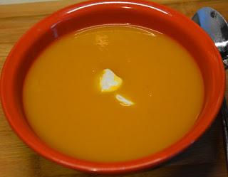 zupa dyniowa z kiełbasą