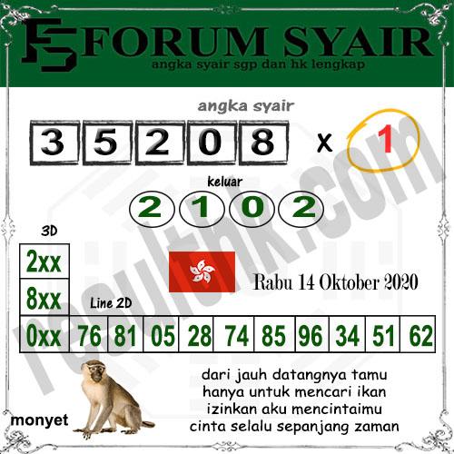 Forum syair hk Rabu 14 Oktober 2020