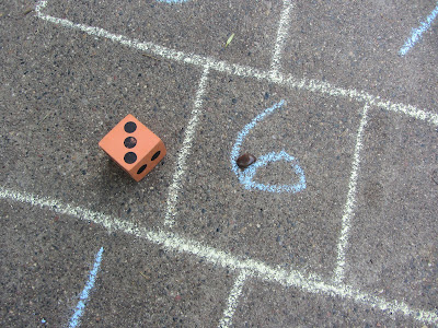 Outdoors Math Review game