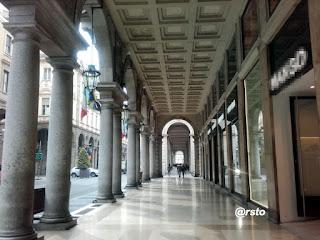 Portici di via Roma