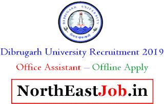 Dibrugarh-University-Recruitment-2019