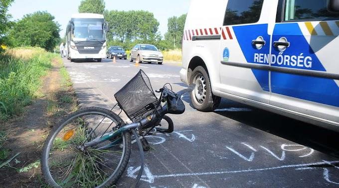Bicikliző családanyát gázoltak halálra (videó)