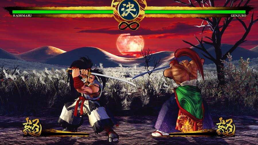samurai shodown 2019 ps4 xb1 haohmaru vs genjuro
