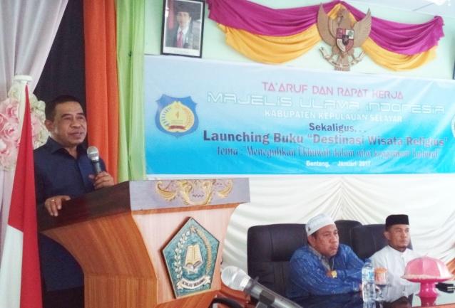 Wakil Bupati ,Buka Ta'Aruf Dan Raker MUI ,Kab.Kep.Selayar