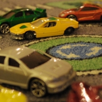 cars on carpet