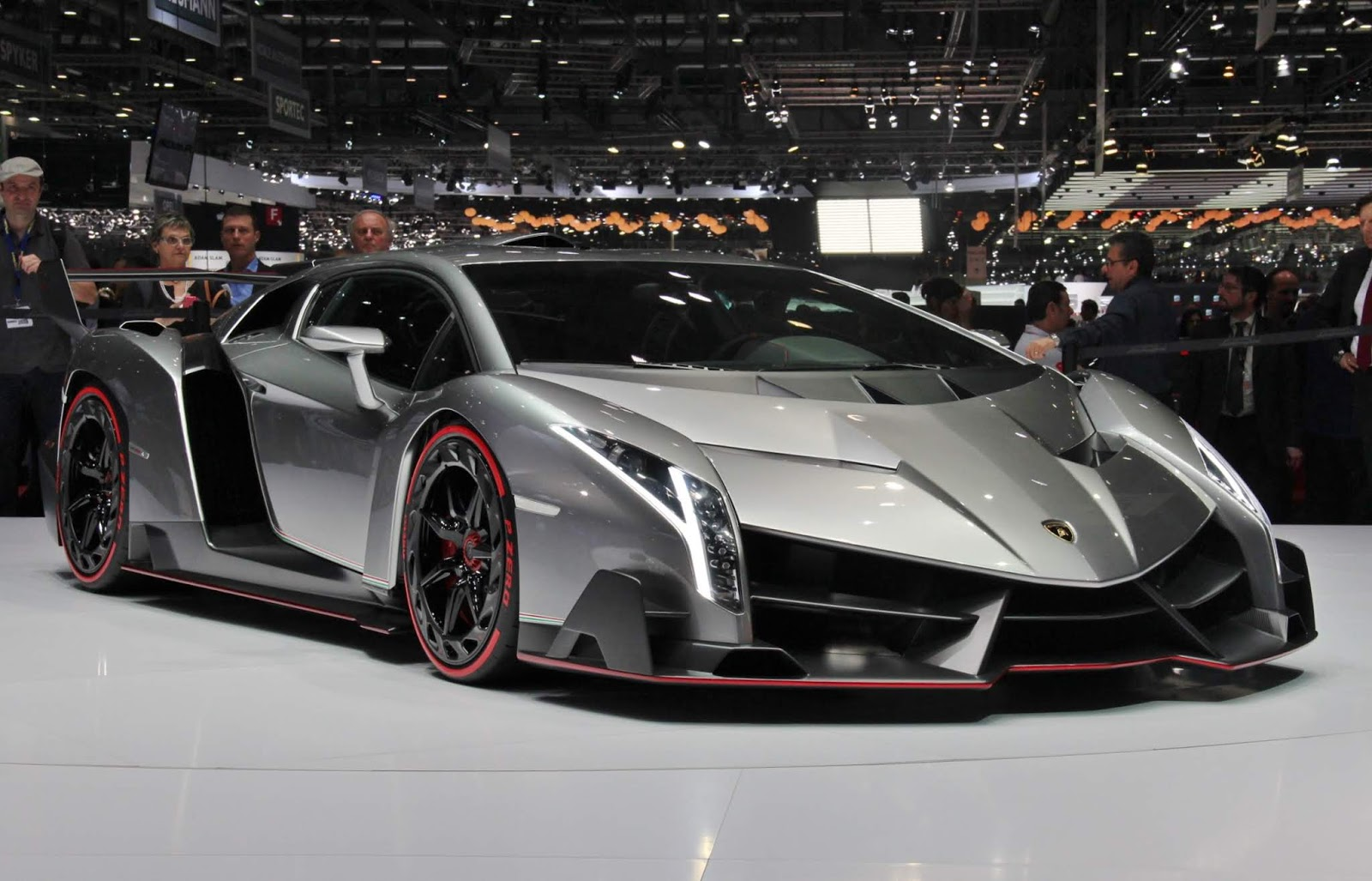 Lamborghini Veneno: $4.5 Million