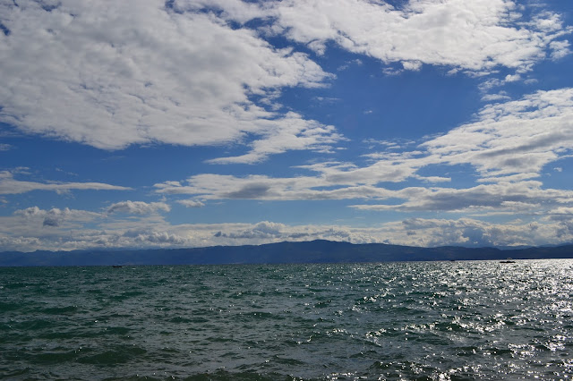 Sun and Clouds, Ohrid Lake, Macedonia