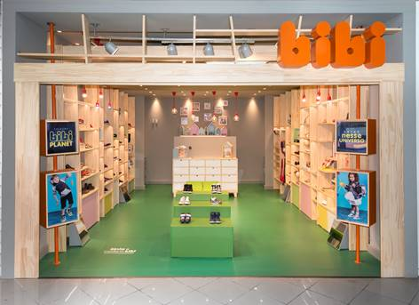 Calçados Bibi inaugura lojas em São Paulo, Rio de Janeiro e Bahia
