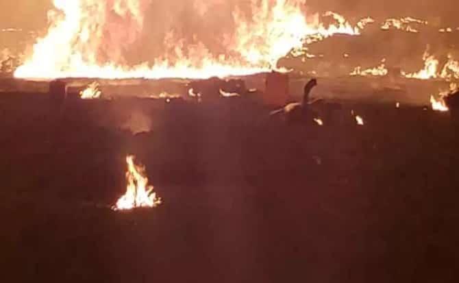 Incendio, lumbre, explosiones