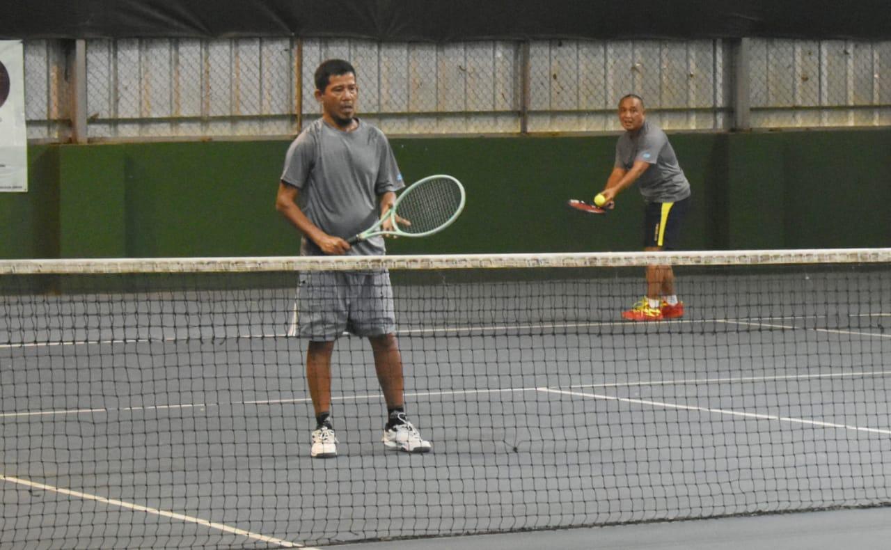 Korem 043/Gatam Gelar Turnamen Tenis lapangan Danrem 043/Gatam Cup 2021.