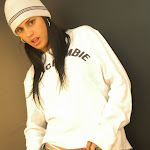 Andrea Rincon, Selena Spice Galeria 19: Buso Blanco y Jean Negro, Estilo Rapero Foto 62