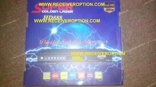 HOW TO CONNECT WIFI IN SUPER GOLDEN LAZER HD888 RECEIVER