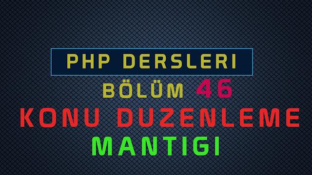 php ile konu duzenleme