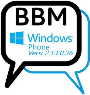 BBM Mod Windows Phone V2.13.0.26 Apk Terbaru