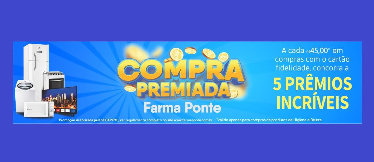 Promoção Compra Premiada Farma Ponte 2021 Festival Prêmios - Cadastrar, Participar e Ganhadores