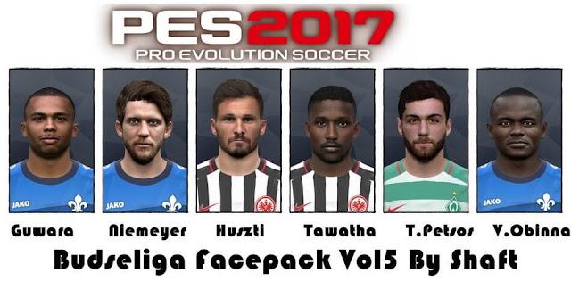 Bundesliga Facepack PES 2017