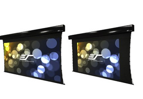 Tensioned Dual Screen
