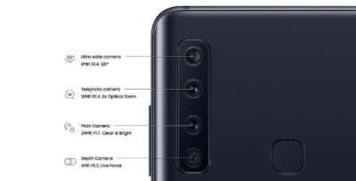 Spesifikasi Kamera Samsung Galaxy A9 2018
