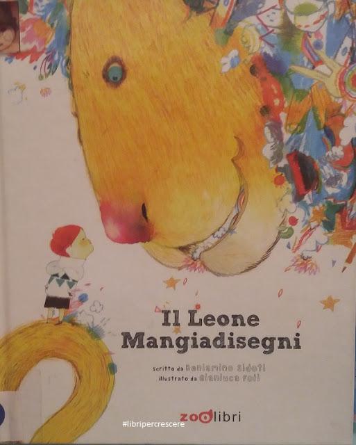 libro: Il leone mangiadisegni