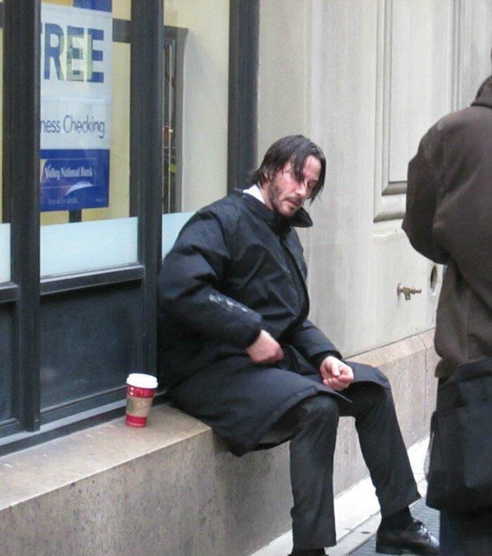 Keanu Reeves soledad