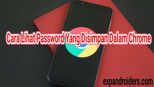 cara lihat password yang disimpan dalam chrome