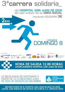 Carrera Solidaria Hospital San Juan de Dios Leon
