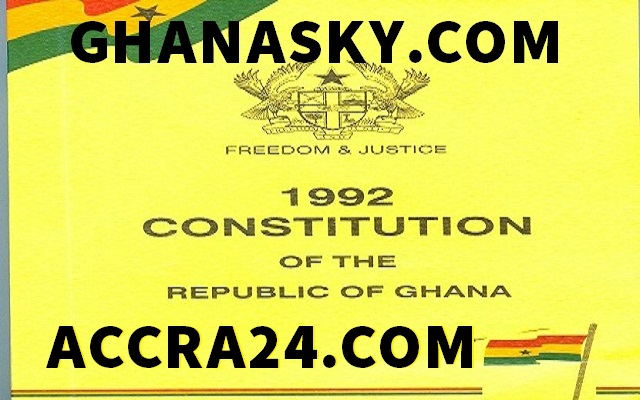 State of the Nation Address  in Constitution of Ghana