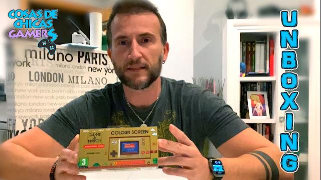 Unboxing game&watch super mario bros