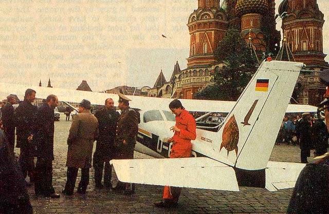 Niemiec na Placu Czerwonym