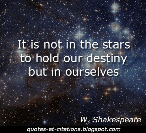 citation notre destinée
