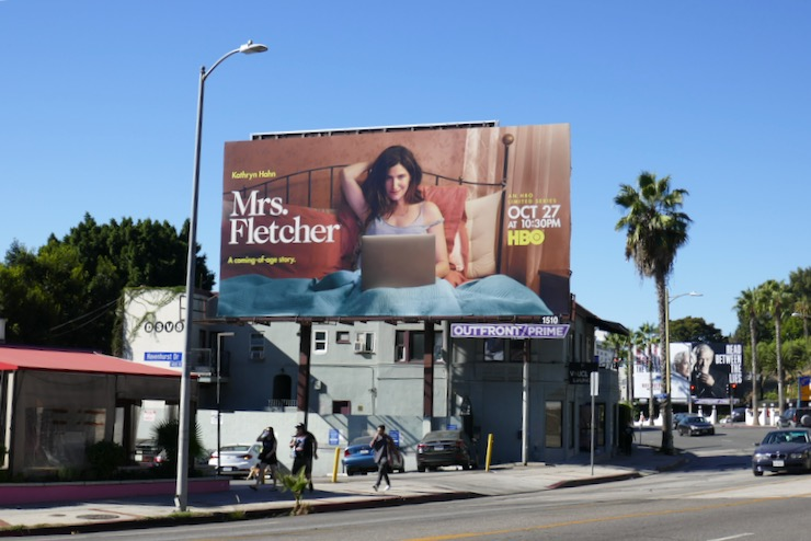 Mrs Fletcher HBO series billboard