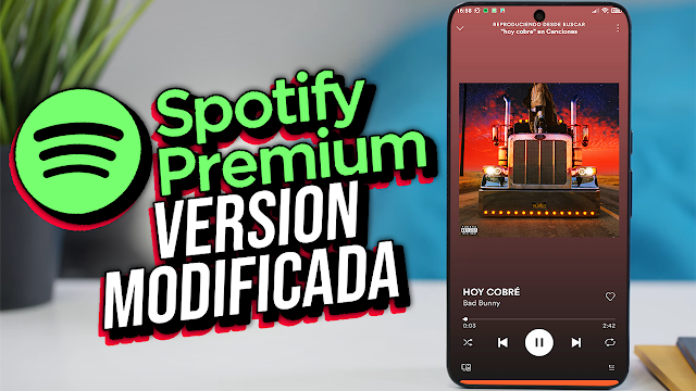 Spotify Premium (MOD) Para Teléfonos Android [Apk]