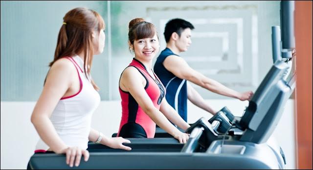 Phòng tập gym căn hộ Jamila Khang Điền Quận 9
