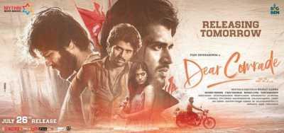 Dear Comrade (2019) Hindi + Telugu Full Movies Free Download 480p