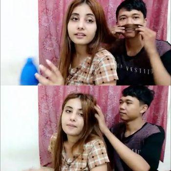 Pasangan Youtuber asal Tulungagung Rico dan waita India Sheevi